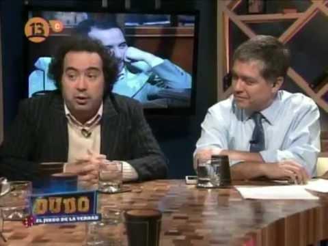 Dudo, el juego de la verdad. Ena Von Baer y Rafael Gumucio - CANAL 13C CHILE 2012