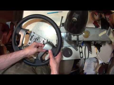 видео: Кожаный руль с подогревом своими руками. Обтяжка руля кожей.