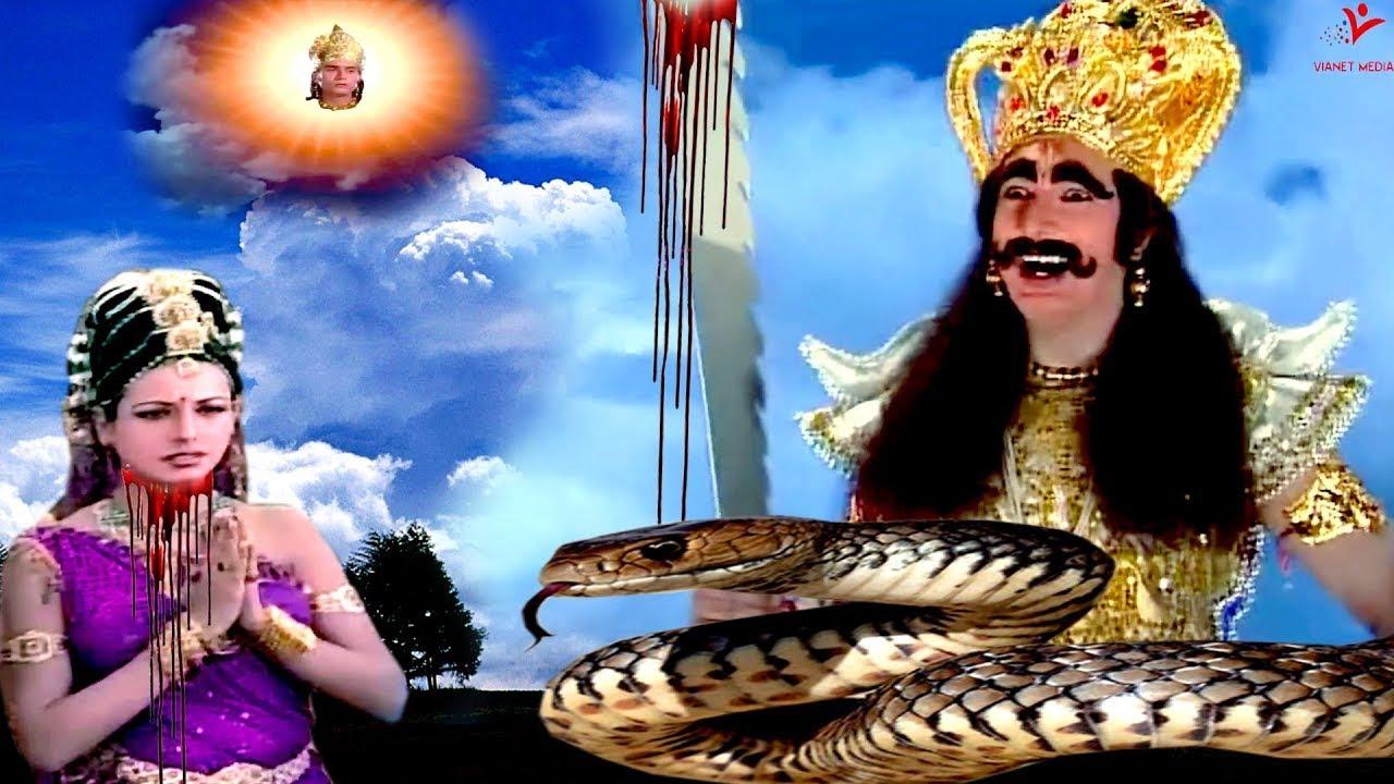 देखिये जब मायावी असुर दुरासत ने काट डाला देवी सची का सर   #JapTapVrat