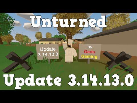 GG - Unturned - Update 3.14.13.0