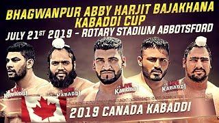 L VE   2019 CANADA KABADD    Bhagwanpur Abby Kabaddi Cup
