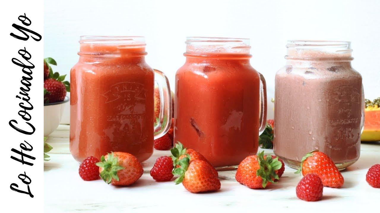 recetas de smoothies ricos