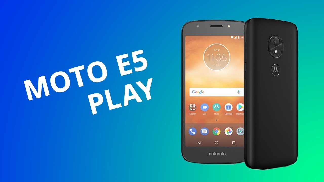 d349c09d2 Moto E5 Play  o primeiro Android Go da Motorola  Análise Review ...