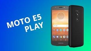 Moto E5 Play: o primeiro Android Go da Motorola [Análise/Review]