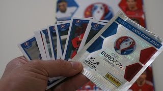 Panini Road To UEFA Euro 2016 France Stickers Pack opening