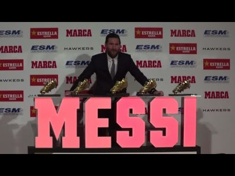 AFP news agency: Lionel Messi claims record 5th Golden Boot