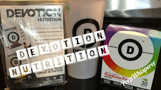 Devotion Nutrition Protein Powder & FlexFlavors Sweetener - Review and Cook with Me !!