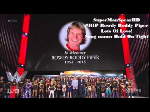 #RIP  - WWE: ''Hold On Tight'' - Rowdy Roddy Piper Official Tribute Theme Song - w/ Download Link