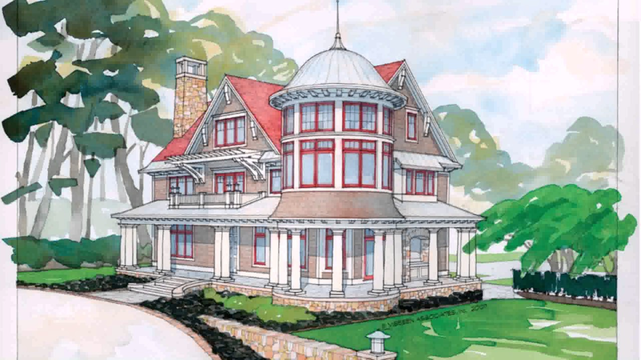 Modern Victorian Style House Plans (see description) (see ...