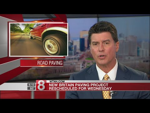 Paving program in New Britain to begin Wednesday