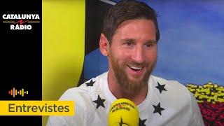 Entrevista a Messi al