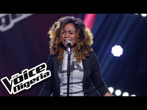 "Tama Nisa sings ""From this moment"" / Blind Auditions / The Voice Nigeria Season 2"