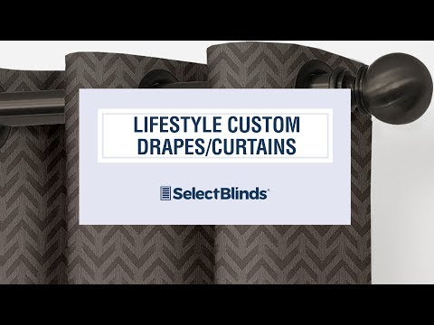 Lifestyle Custom Drapes/Curtains From SelectBlinds.com