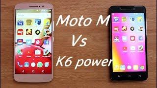 Moto M vs Lenovo K6 Power SpeedTest Comparison II Mediatek vs Snapdragon II Hindi