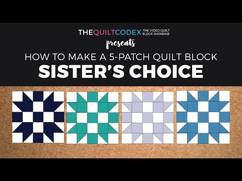 Sister's Choice Quilt Block Tutorial