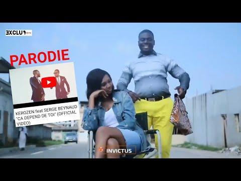 """JOEL """"Dans tes reins"""" parodie de KEROZEN & SERGE BEYNAUD """"Ça dépend de toi""""(HD)🌍Côte d'ivoire Music"""