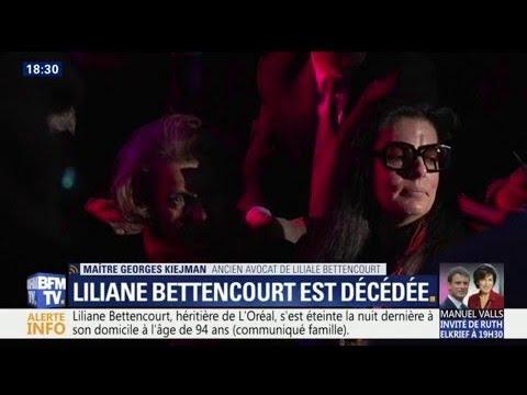 """Mort de Liliane Bettencourt: """"On a gâché les dernières années de sa vie"""", pour son ancien avocat"""