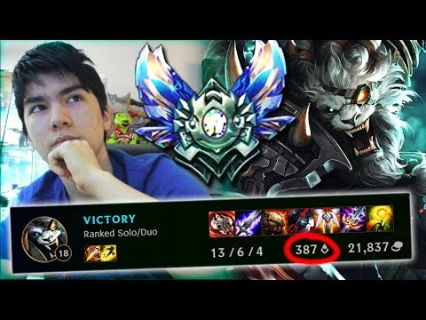 HOW TO CONSISTENTLY CARRY GAMES BY FARMING ! 7 CS / MIN RENGAR JUNGLE GUIDE GAMEPLAY
