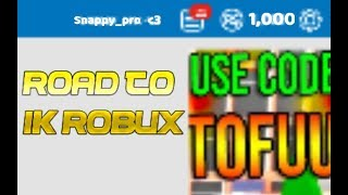 ROBLOX ROAD TO 1K ROBUX! 🤑 | Kid Friendly | 🔴 LIVE