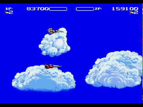 Air Buster Sega Genesis TAS 2 players Hardest
