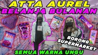 ATTA AUREL Belanja Bulanan Borong Supermarket Semua warna UNGU..