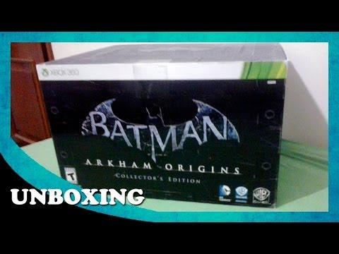 Unboxing - Batman Arkham Origins - Edição de Colecionador