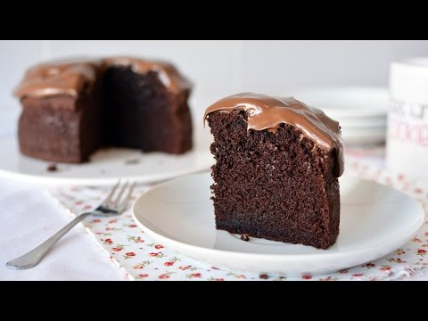 How to Make a Simple Chocolate Cake - Easy Homemade Chocolate Cake Recipe