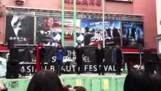 2011.11.3 シネシティでの SUPER MODEL イベント リラックスしたKINOの...