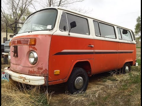 Volkswagen Hunting In Wyoming. Forgotten VW Bus Bug Ghia Beetle Road Trip.