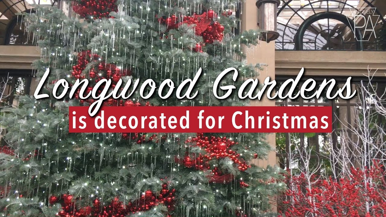 Longwood Gardens Does A Massive Christmas Display Every Year Youtube