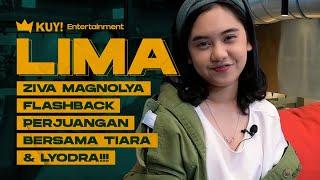 LIMA : SERING DENGAR LAGU C.H.R.I.S.Y.E ZIVA MAGNOLYA BIKIN SINGLE BARU BARENG LALEILMANINO!!!