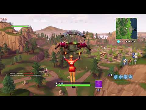 Fortnite Battle Royale - WEEK 4 CHALLENGE GUIDE! - Treasure Map ( SEASON 5 )