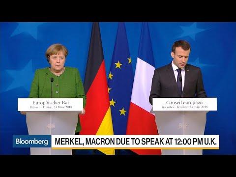 Germany's Merkel and France's Macron to Meet in Berlin