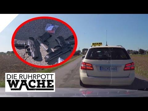 Waffen-Taxi: Der mobile Waffenlieferant | Die Ruhrpottwache | SAT.1 TV