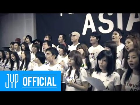 "Various Artists ""I Love Asia"" Produced By J.Y. Park(박진영)"