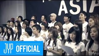 "[M/V] Various Artists - "" I love Asia"" produced by J.Y.Park"