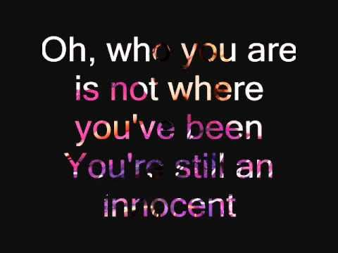 Taylor Swift - Your still an Innocent (Lyrics)
