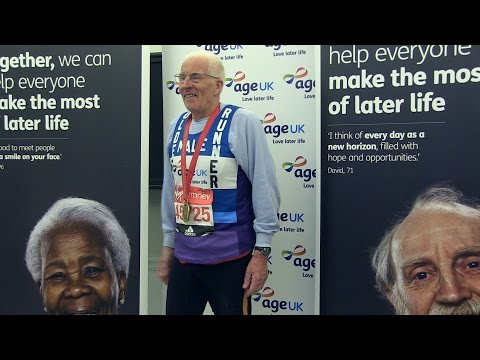 Age UK at the 2016 Virgin Money London Marathon