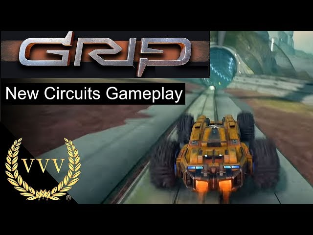 GRIP: Combat Racing Gameplay New Circuits