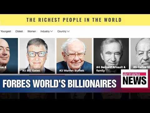 Forbes 33rd Annual World's Billionaires list released