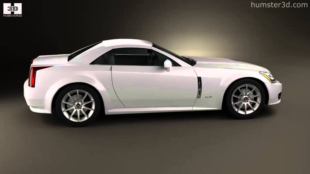 Cadillac xlr 2009 by 3d model store humster3d com