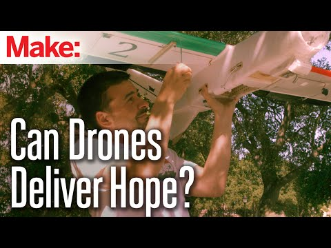 Can Drones Deliver Hope to War-Torn Syria?