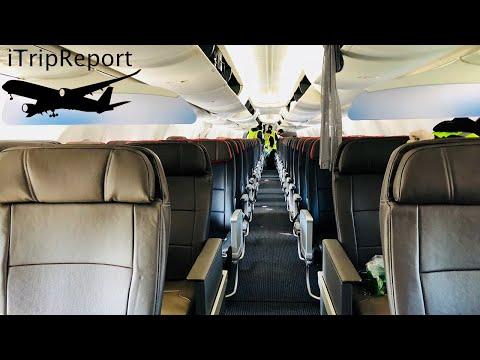 American 737-8 MAX Inagural Flight First Class (4K)