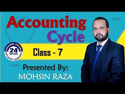 Accounting Cycle (Urdu /Hindi) by Mohsin Raza - Lesson No. 07