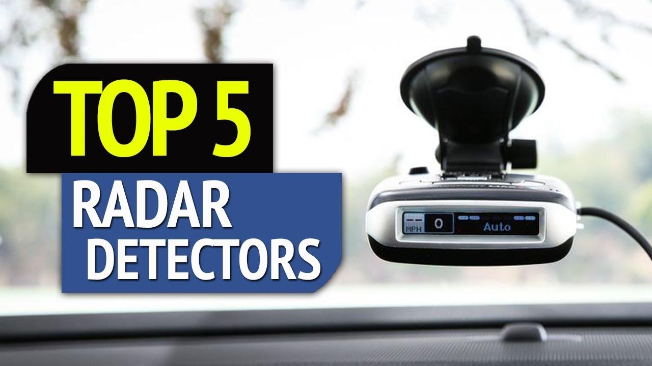 TOP 5: Best Radar Detectors 2018 - YouTube