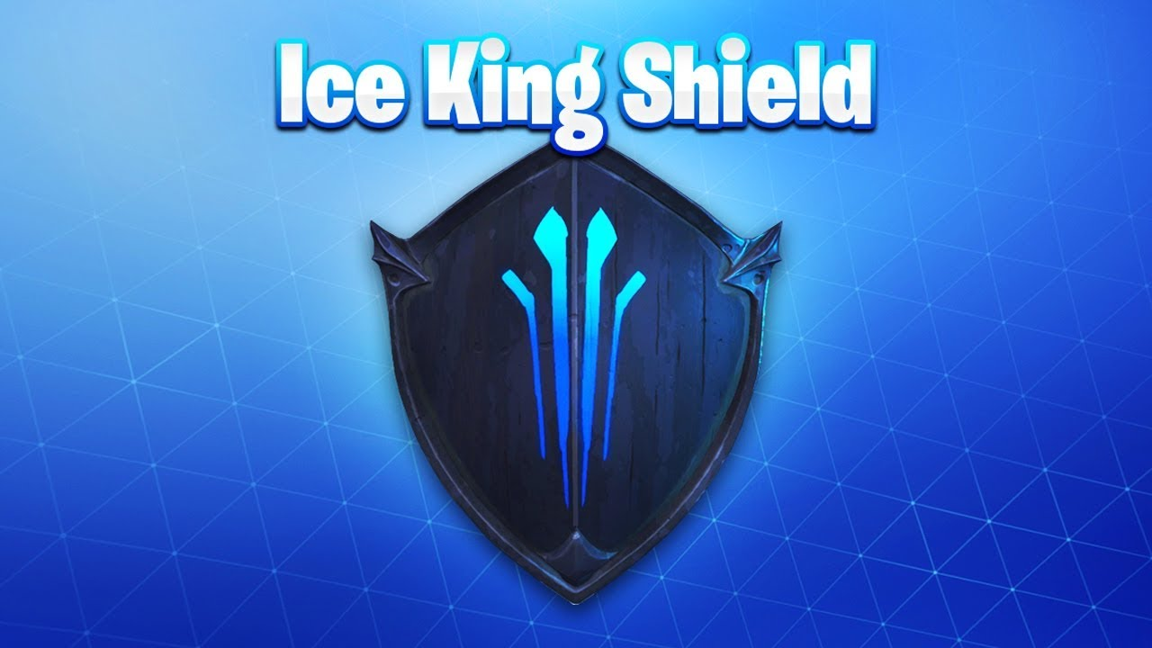 The New ICE KING SHIELD in Fortnite! (New Fortnite Ice Storm Event)