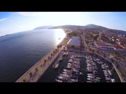 Setúbal's Bay Aerial View