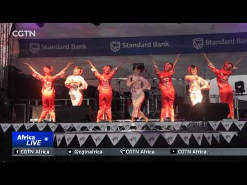 Annual festival offers a blend of Chinese-African culture in South Africa