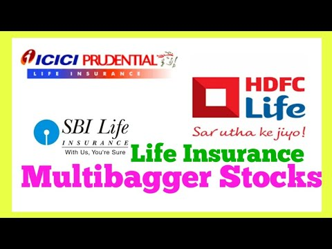 Life Insurance Multibagger Stocks / SBI life Insurance / ICICI Prudential
