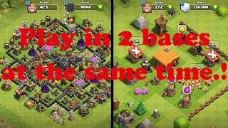 How To Play Multiple Accounts Of Clash Of Clans At The Same Time In Android. *Updated*